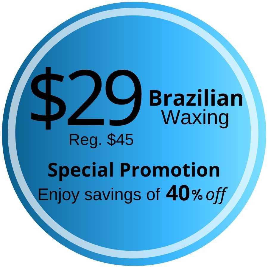 Brazilian wax promo in fontana