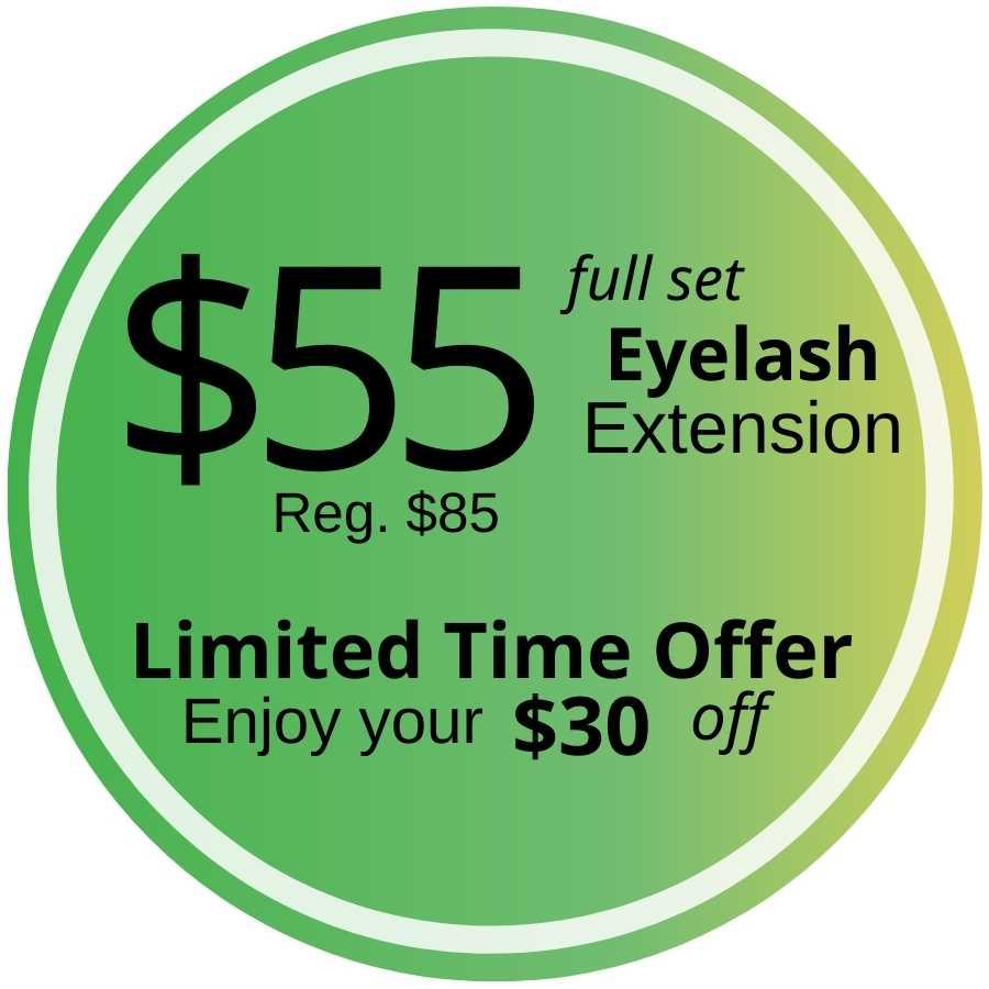 Eyelash Extension in Fontana promo