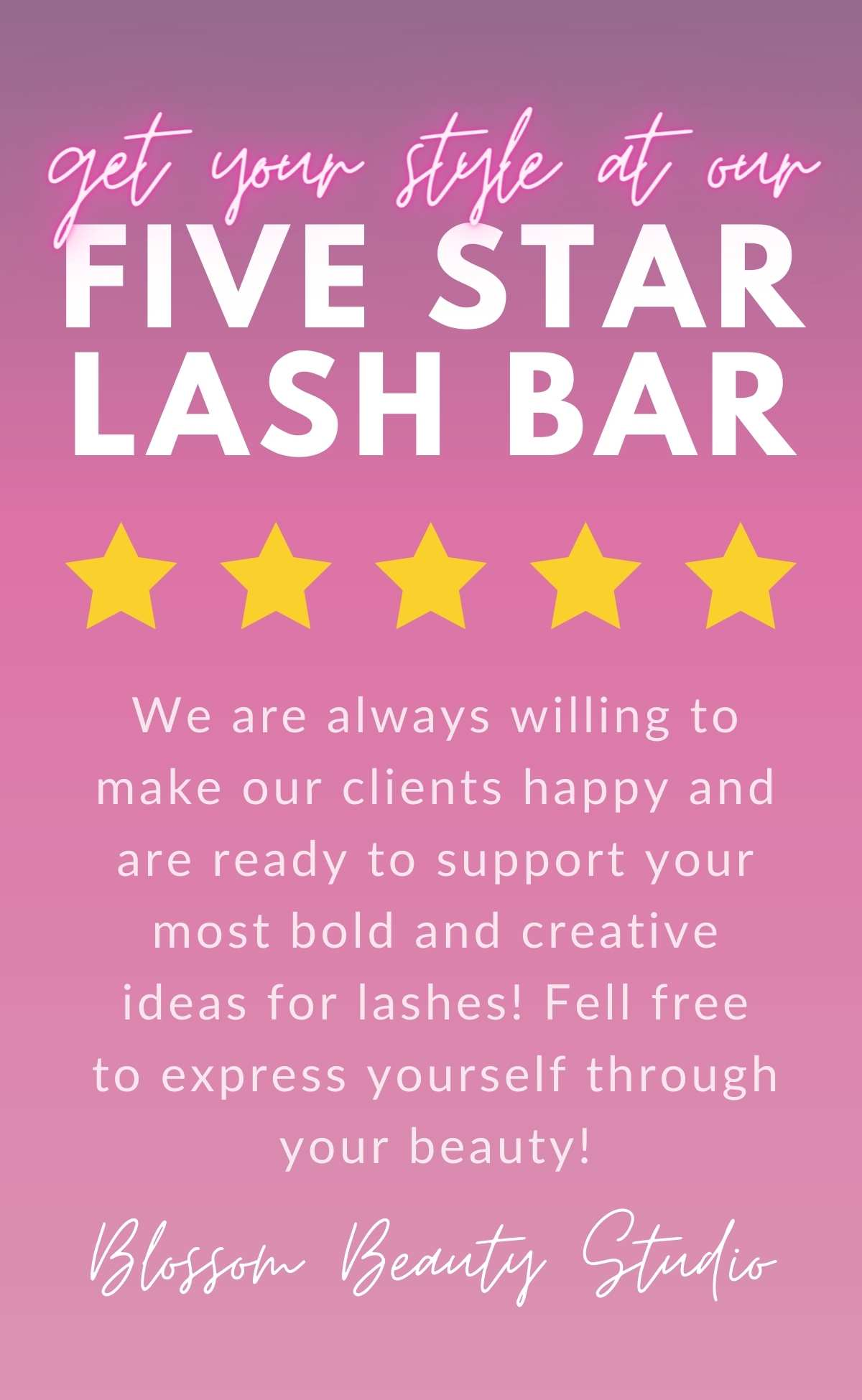 Blossom Beauty Studio website