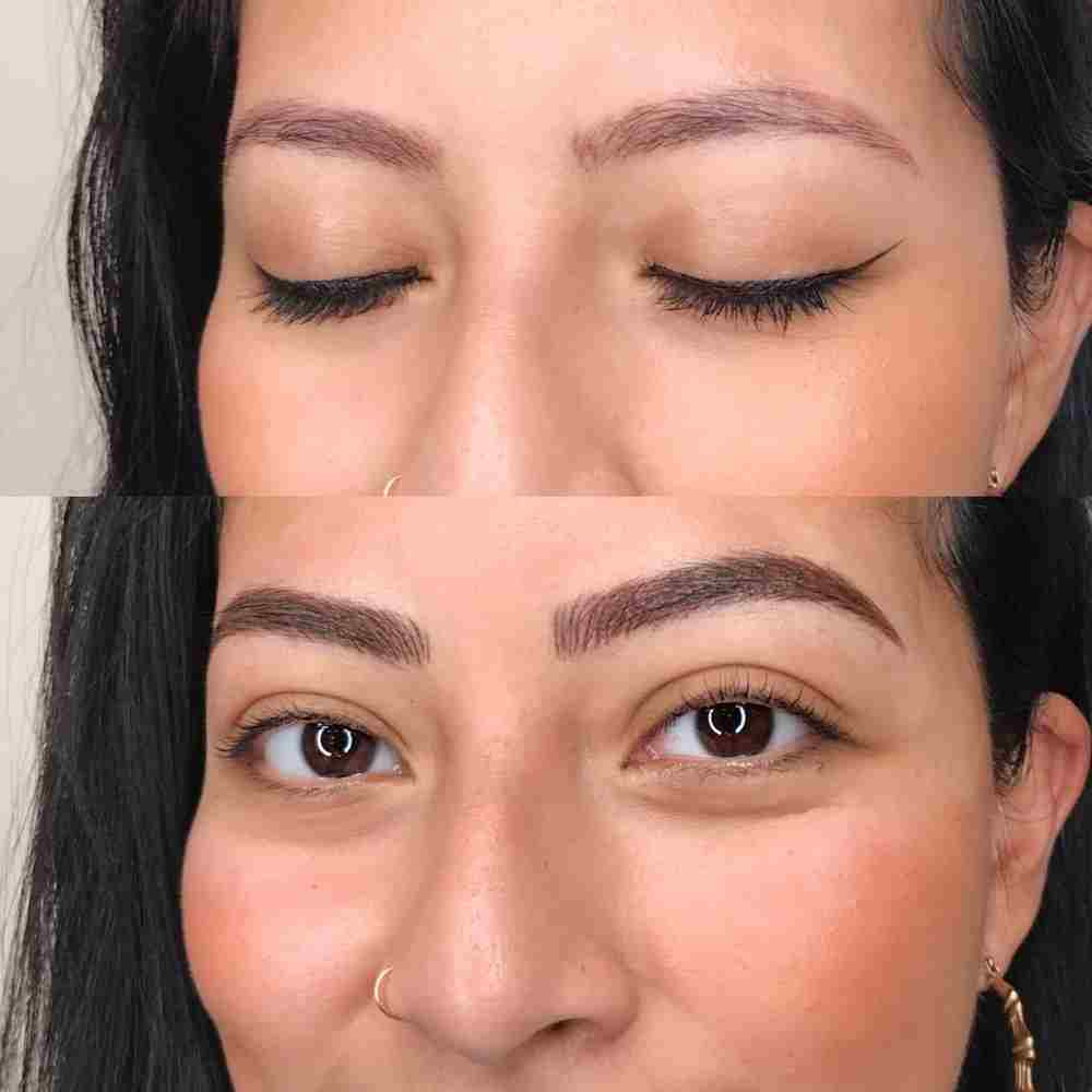 Microblading eyebrows near me