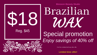 Brazilian Wax coupon